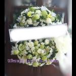 01984w  พวงหรีดดอกไม้  เริ่มต้น 2500 บ.