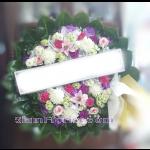 01983w  พวงหรีดดอกไม้  เริ่มต้น 1650 บ.