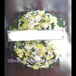 01982w  พวงหรีดดอกไม้  เริ่มต้น 2000 บ.