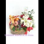 01857n กระเช้าผลไ้ม้ดอกไม้  เริ่มต้น 2000 บ.