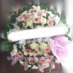 01977w  พวงหรีดดอกไม้  เริ่มต้น 2000 บ.