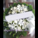 01976w  พวงหรีดดอกไม้  เริ่มต้น 1850 บ.