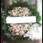 01975w  พวงหรีดดอกไม้  เริ่มต้น 1850 บ.
