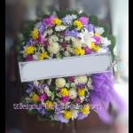 01973w  พวงหรีดดอกไม้  เริ่มต้น 2000 บ.
