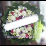 01971w  พวงหรีดดอกไม้  เริ่มต้น 1500 บ.