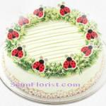 4070CAKE  Pandan Layer Cake