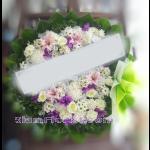 01969w  พวงหรีดดอกไม้  เริ่มต้น 1850 บ.