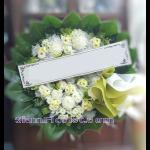 01963w  พวงหรีดดอกไม้  เริ่มต้น 1250 บ.