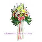 2419   แสตนด์ดอกไม้รวม สูงประมาณ 1.30 ม.  เริ่มต้น 6900  บ.