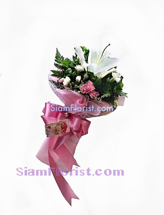1009 Bouquet of Single of Lily