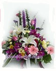 2277   Basket of Mixed Flowers start US$62