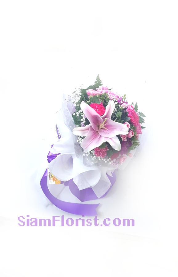 1157. Bouquet of Mixed Flowers..click for detail