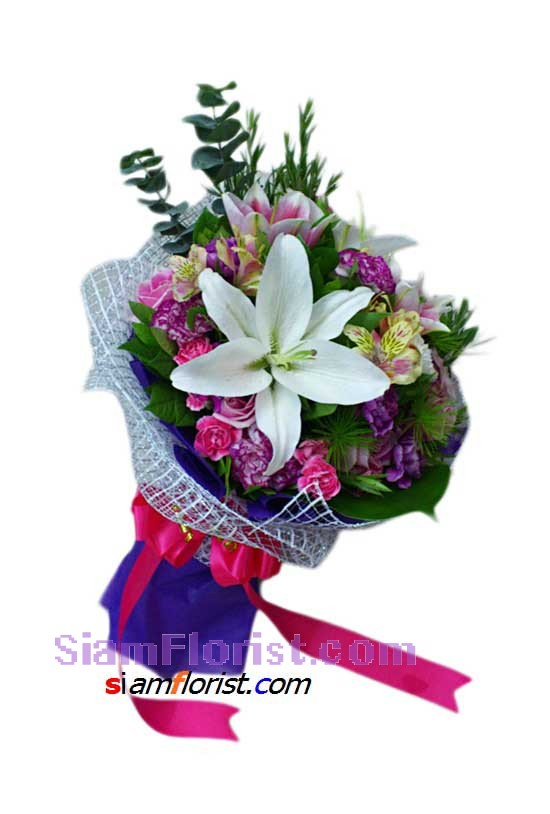 2343  Bouquet of Mixed Flowers more detail click