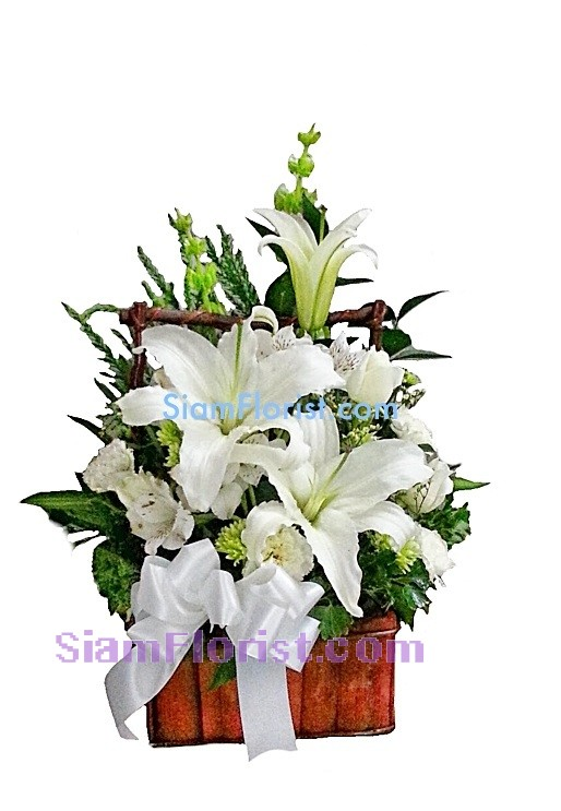 1012 Basket of Mixed Flower Click for detail