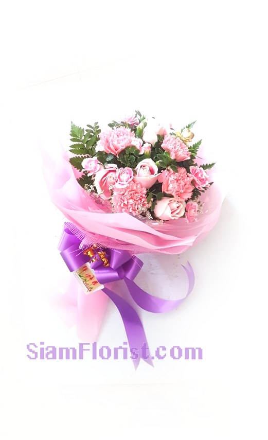 1162. Bouquet of Mixed Flowers..click for detail