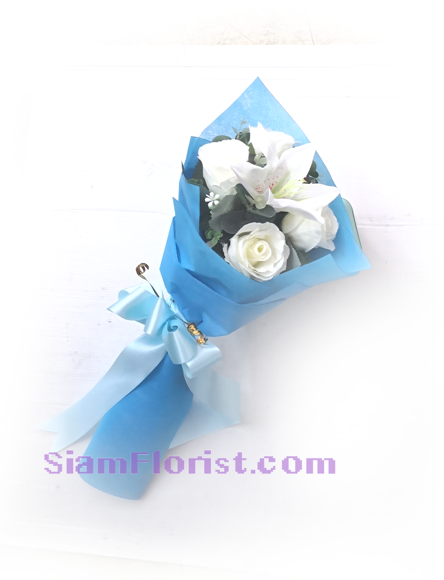 01891Af  Bouquet of Artificial Flowers