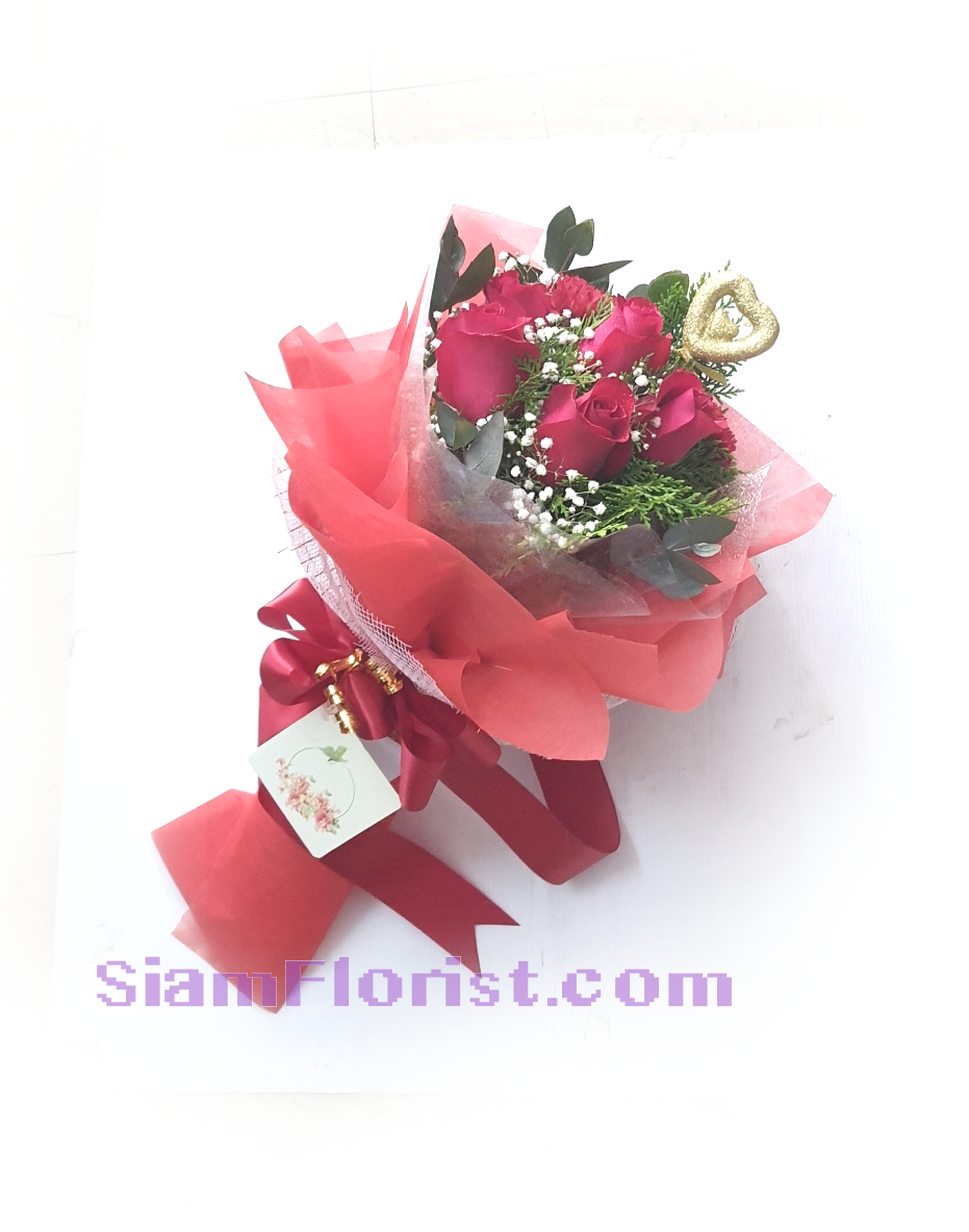 01818RO Bouquet of Roses