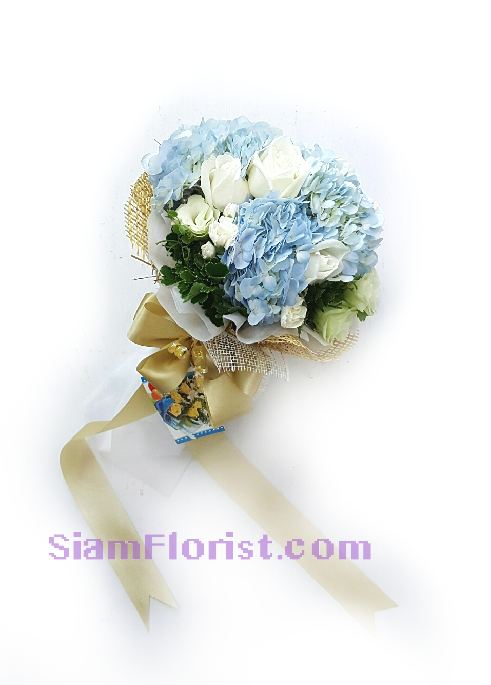 HG1110 Bouquet of  Hydrangeas mixed flowers  Click for detail