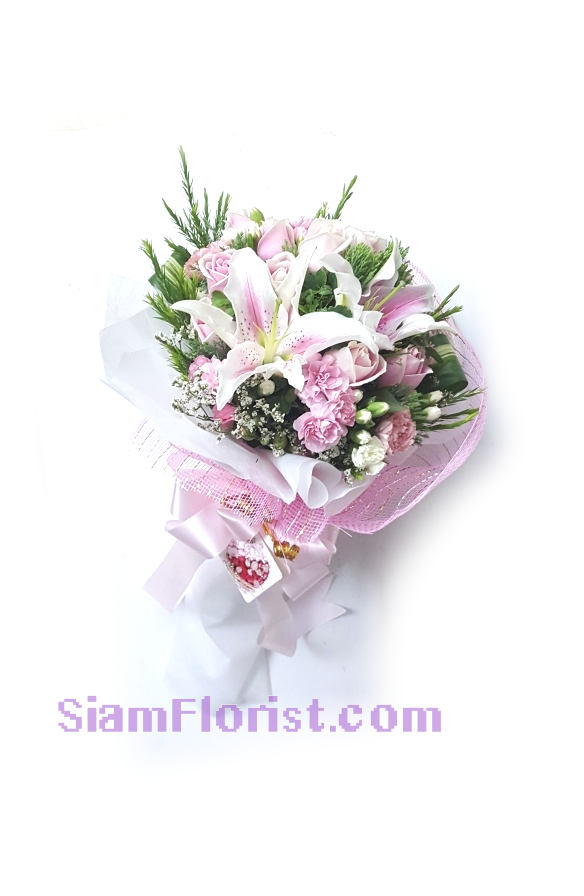 2531 Bouquet of Mixed Flowers Click for detail
