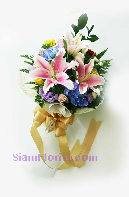 2488 Bouquet of  Mixed Flowers more detail click