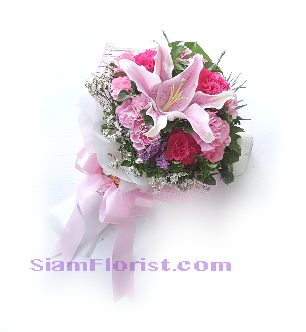 1141. Bouquet of Mixed Flowers..click for detail