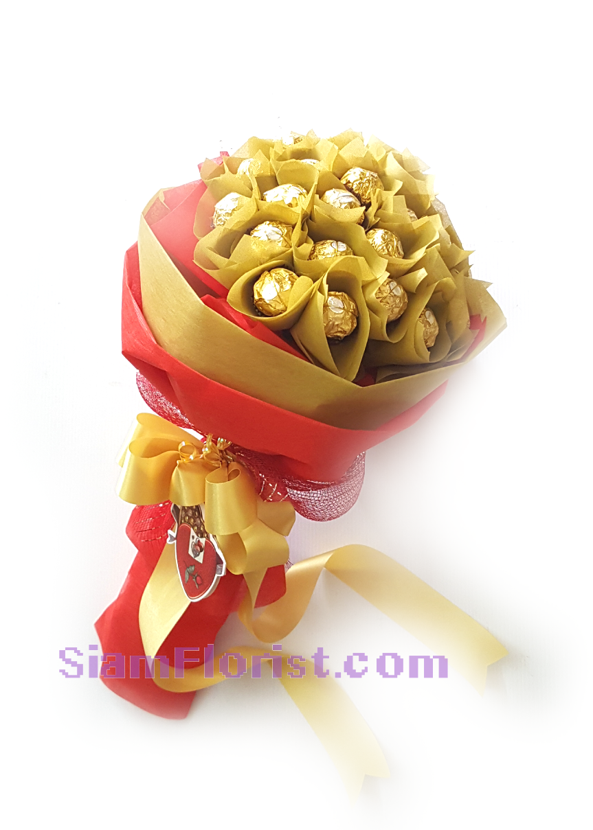 2538. Chocolate Bouquet click for detail