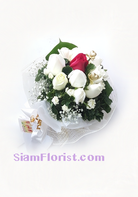 1135 Long stemmed Rose..click for detail