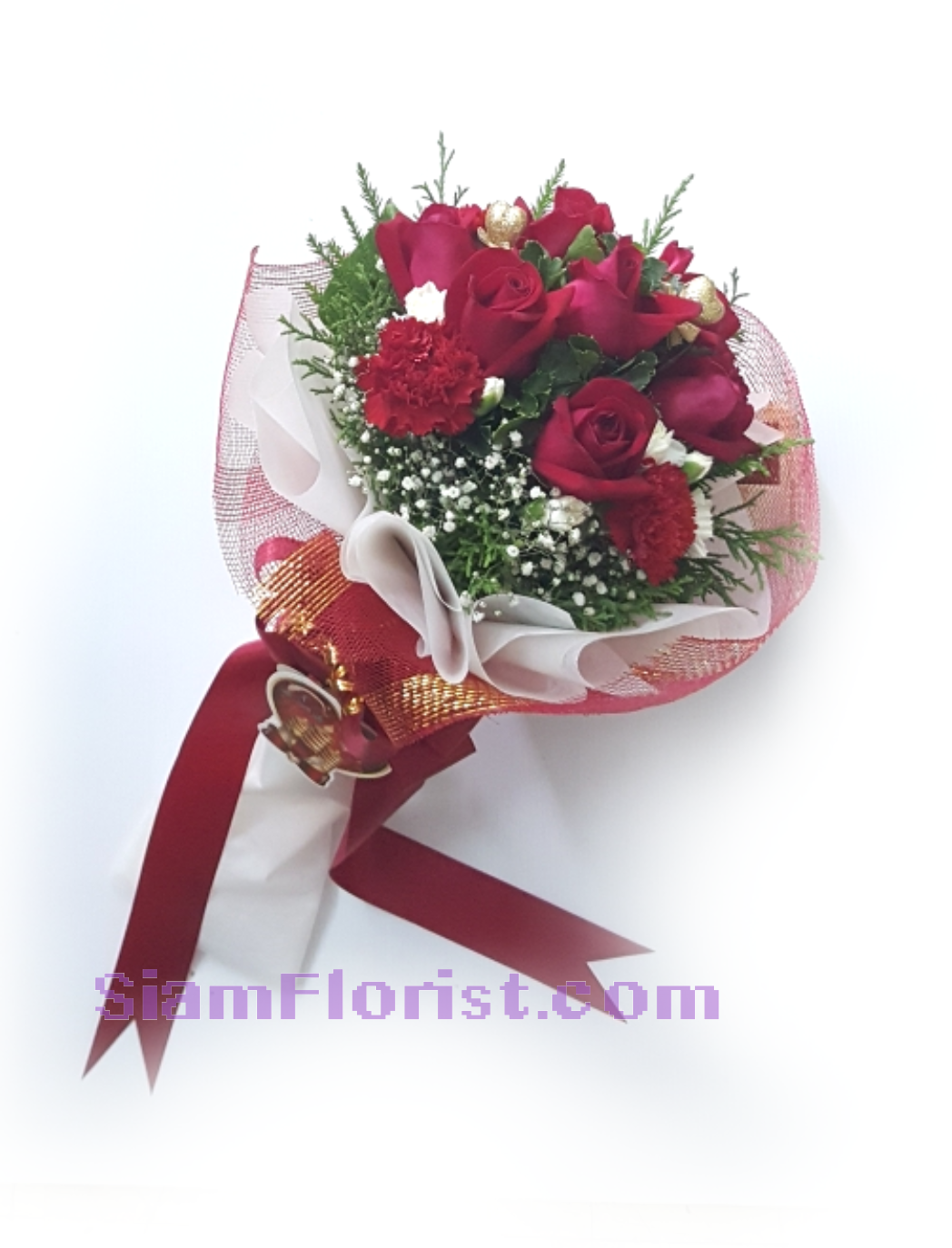 1113V Bouquet of Roses  Click for detail