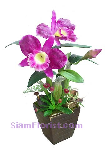 2291   Orchid  Artificial Flowers  start US$74