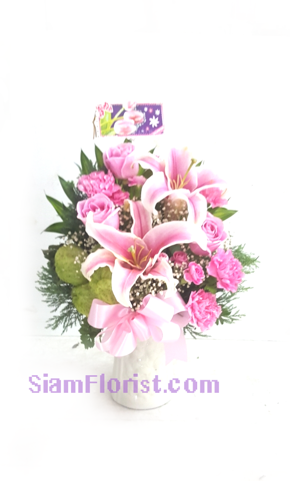 1152 Vase of Flowers. more detail click