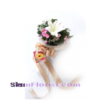 1036 Bouquet of Single of Lily