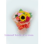 2061  Bouquet of Mixed Fresh Flowers