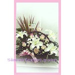 2099   Basket of Mixed Flowers start US$62
