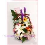 2282   Basket of Mixed Flowers start US$54