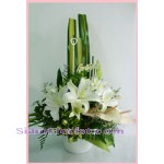2056  Vase of Lilies