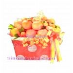 CH2389 Basket oranges for Chinese New Year click for detail