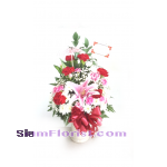 1151 Vase of Flowers. more detail click