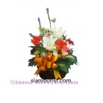 2326   Basket of Mixed Flowers