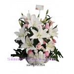 2336 Basket of  Mixed Flowers