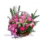 2339 Basket  of Roses