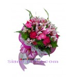 2342  Bouquet of Lilies  more detail click