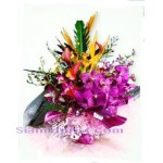 2283  ฺBouquet of Orchids Mixed Flowers  start US$78