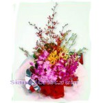 2284  Bouquet of Orchids Mixed Flowers  start US$78