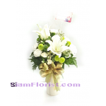 1106 Vase of Flowers. more detail click