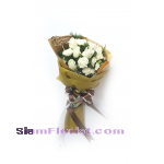 RR1160. Bouquet of white mixed flowers..click for detail