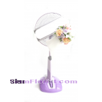 WF1090  Sympathy Fan Wreath
