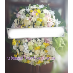 01981w Sympathy Flowers Wreath