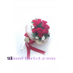 1101  Bouquet of Roses Carnations.. more detail click
