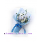 01822 HG Bouquet of  Hydrangeas
