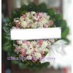 01975w Sympathy Flowers Wreath